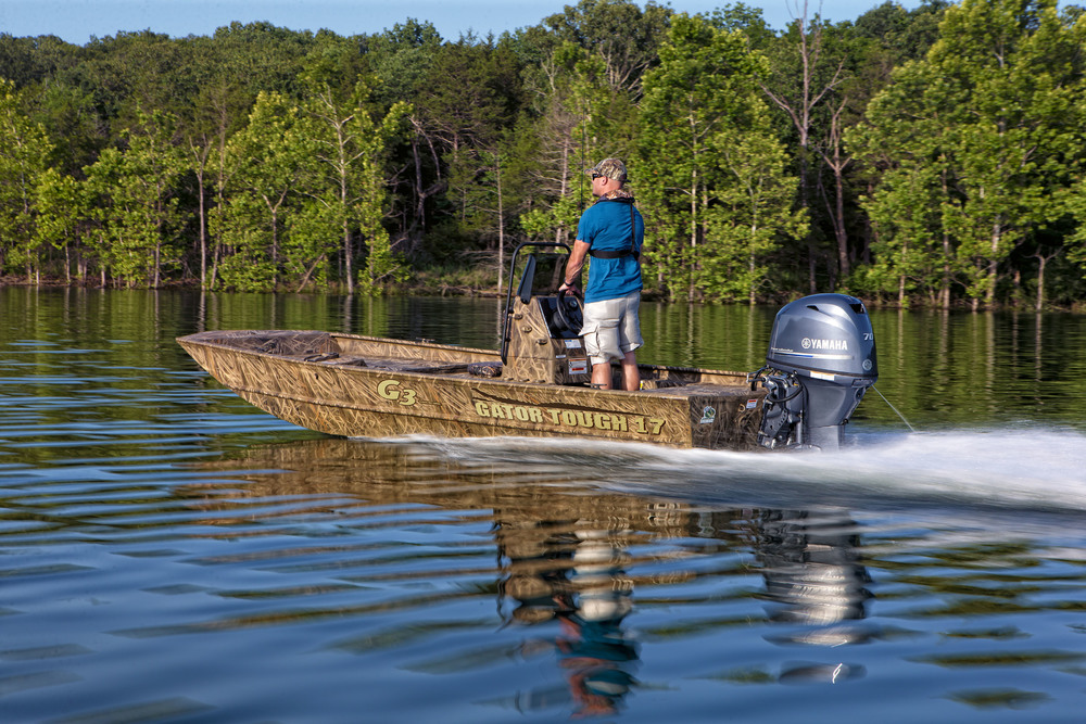 the g3 gator tough fishing and hunting boat