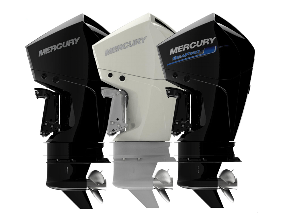 new mercury v6 four stroke outboard motors introduced
