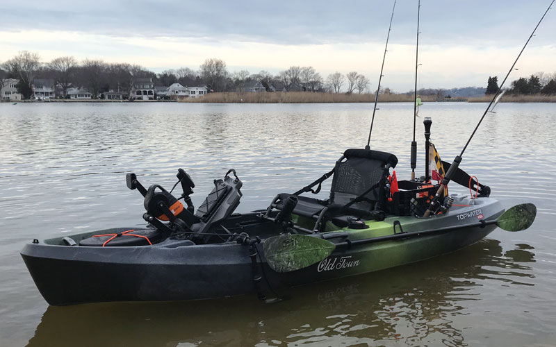 Old Town Topwater PDL Fishing Kayak Review | FishTalk Magazine