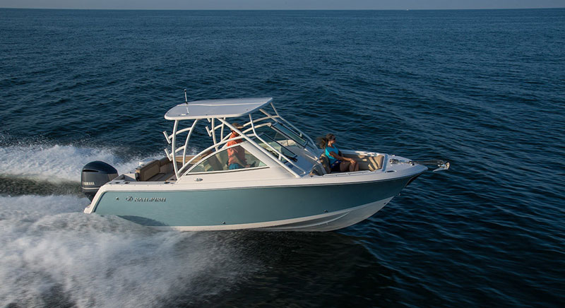 Sailfish 245DC Boat Review: Dual Identity | FishTalk Magazine
