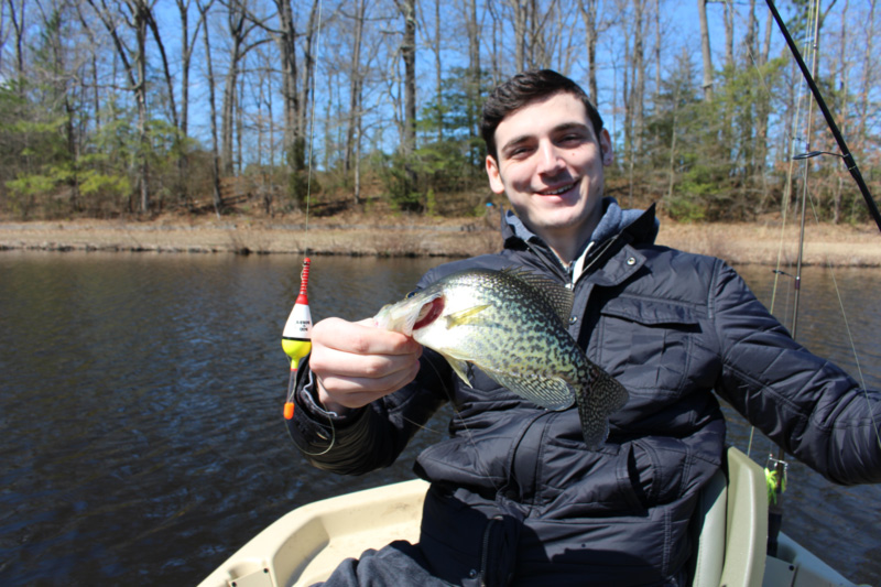 crappie in a millpond