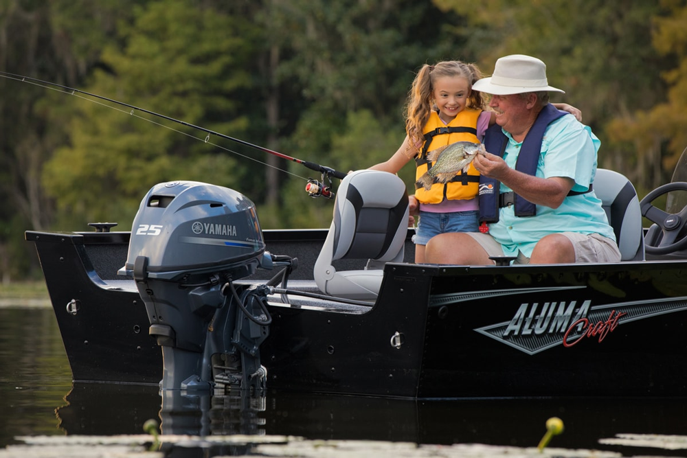 Yamaha F25 Outboard Engine Test and Review | FishTalk Magazine