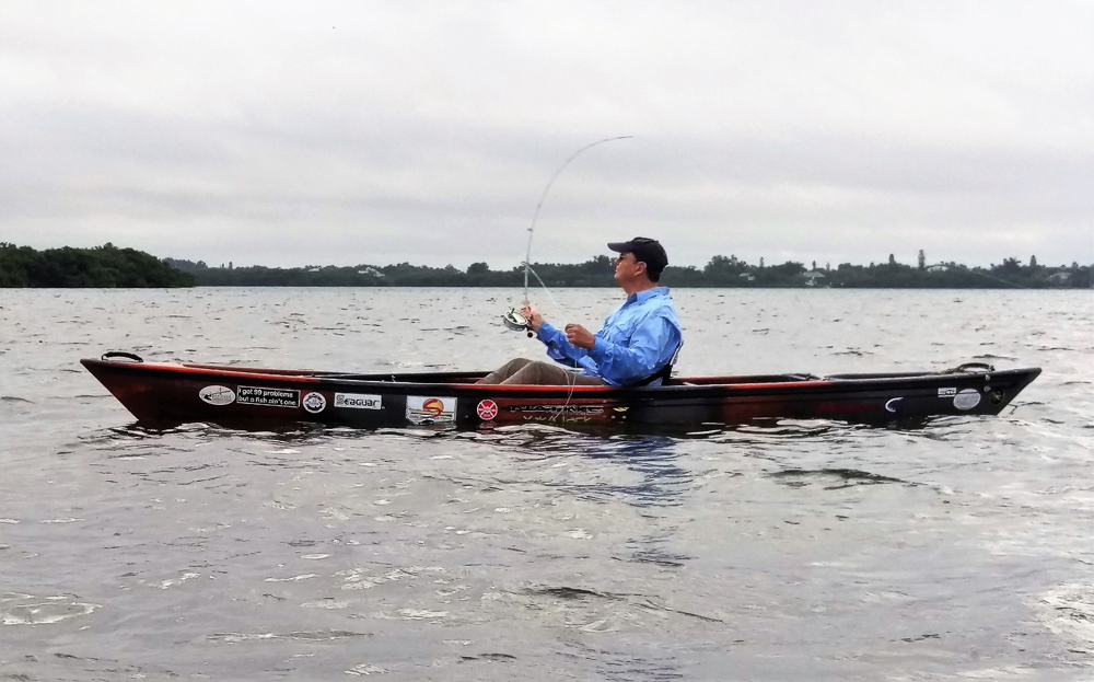 How To Go Fly Fishing On A Kayak Fishtalk Magazine