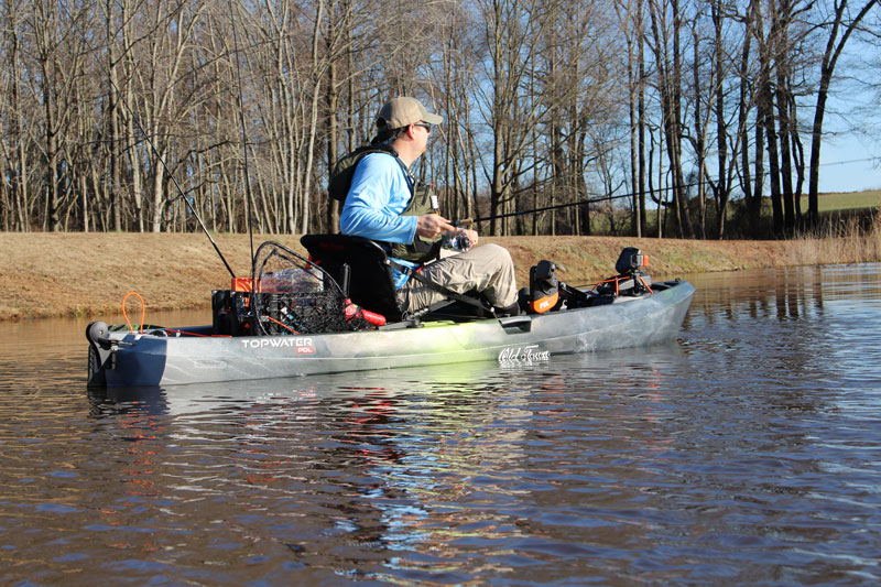 Paddler's Edge: Kayak Fishing Lessons | FishTalk Magazine