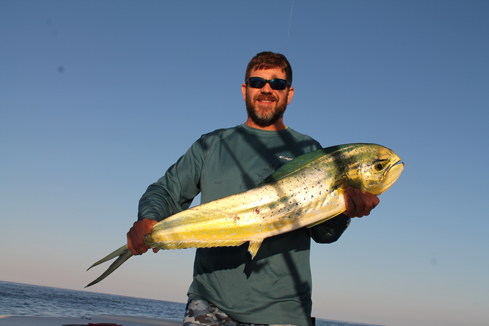 fishing for mahi