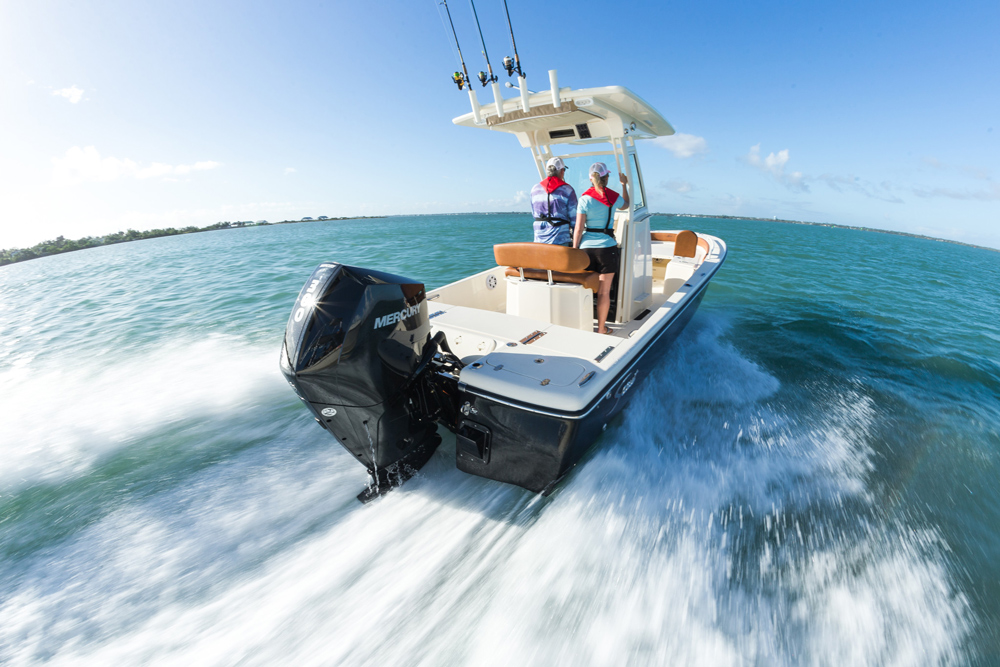 New Mercury V8 250 and 300 FourStroke Outboards Introduced