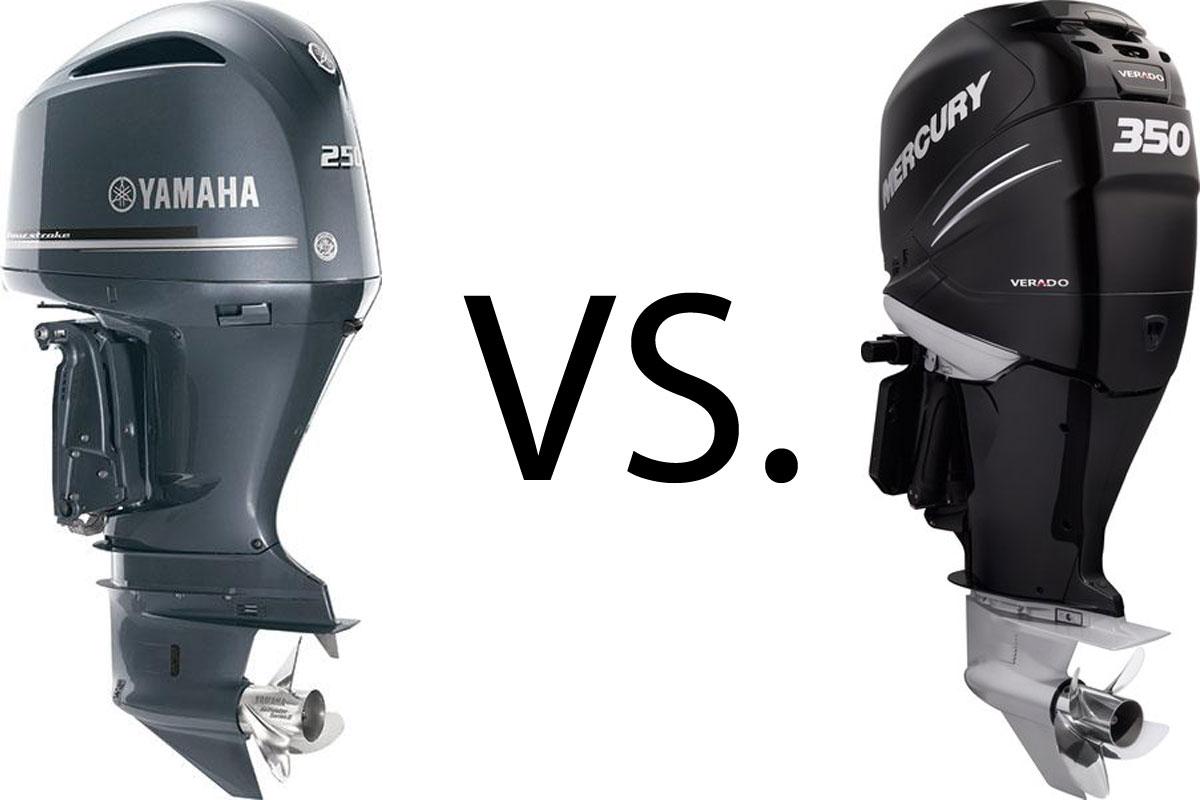 Yamaha V-6 Offshore Outboards versus Mercury Verado Outboard